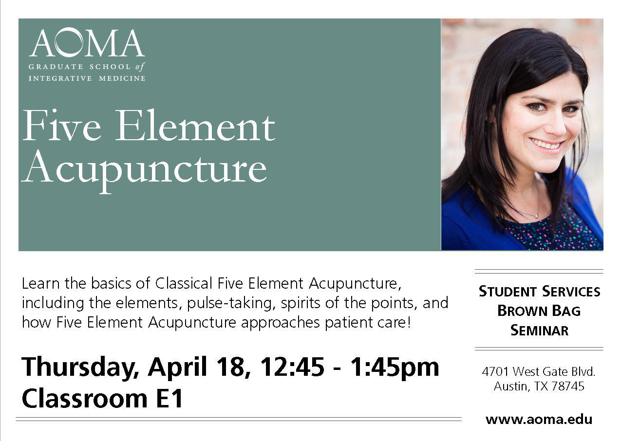 Free Talk about Classical Five Element Acupuncture